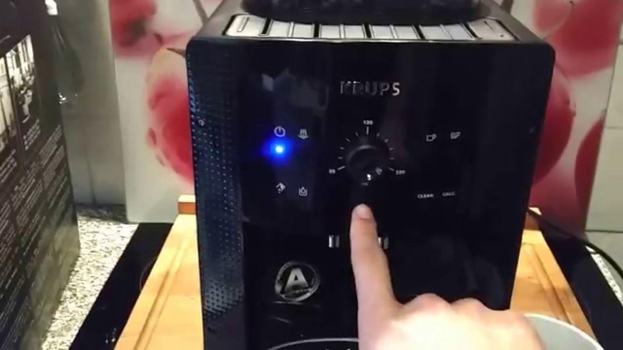 krups ea 8108 kaffeevollautomat bedienung youtube. Black Bedroom Furniture Sets. Home Design Ideas