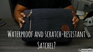 Mactso Vintage Canvas Satchel / Messenger Bag For Men & Women 2018 Review