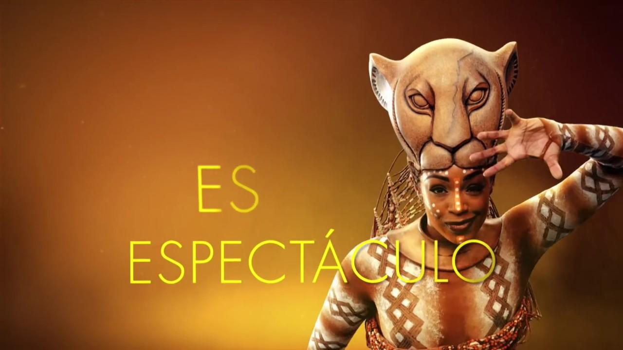 "El Rey León, el musical - Spot ""Feel The Joy"" - YouTube"