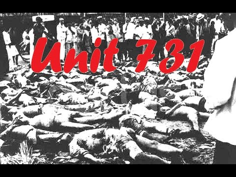 World war 2 - War crimes - Unit 731 - Japan