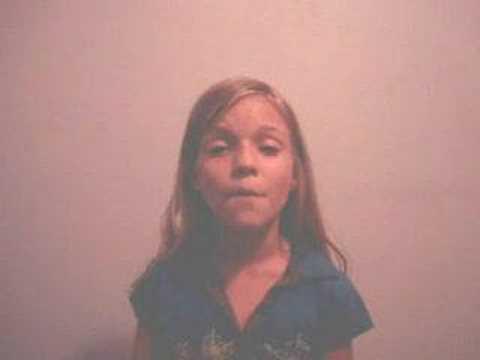 Adri Singing Fergie Big Girls Don't Cry