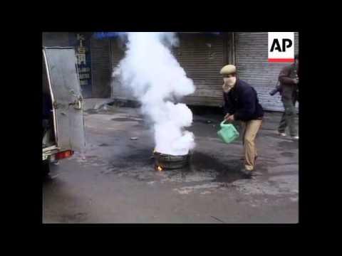 Tear gas used at demo after arrest of separatist leader