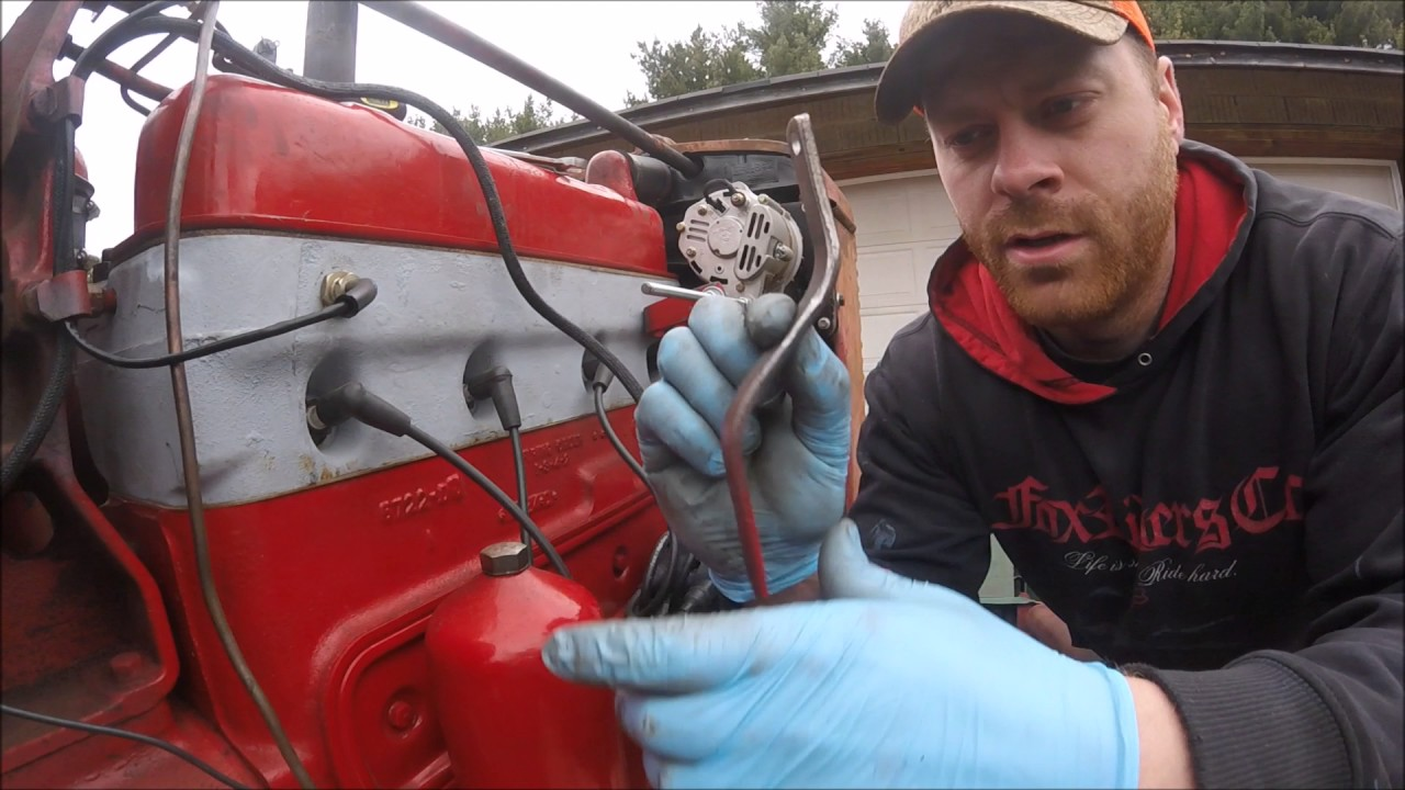 hight resolution of 1947 farmall m episode 26 12 volt conversion 100th episode