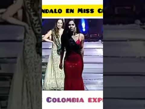Los Anormales - Candidata Colombiana en Miss Global DENUNCIA FRAUDE en pleno CERTAMEN