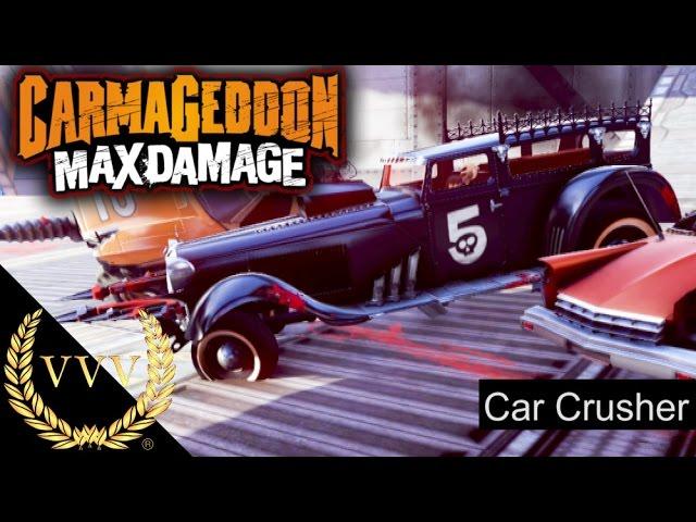Carmageddon Max Damage Car Crusher