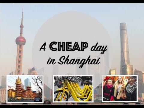 A day in Shanghai: UNDER ¥50!!!!