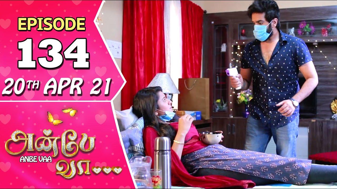 Download Anbe Vaa Serial | Episode 134 | 20th Apr 2021 | Virat | Delna Davis | Saregama TV Shows Tamil