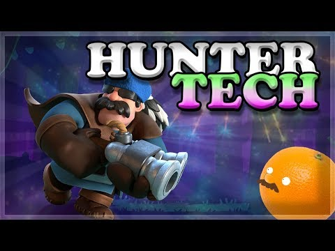 How to Use and Counter Hunter Tech | Clash Royale 🍊