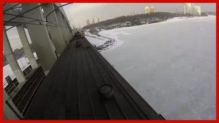 VLOG: На Крыше Поезда
