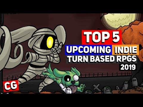 Top 5 Upcoming Indie Turn Based RPGs / JRPGs For 2019 & Beyond!