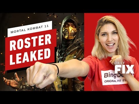 Mortal Kombat 11 May Have Leaked Its Full Roster - IGN Daily Fix thumbnail