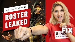 Mortal Kombat 11 May Have Leaked Its Full Roster - IGN Daily Fix