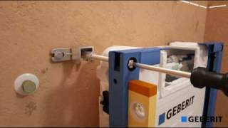 Geberit Duofix UP200 installatievideo