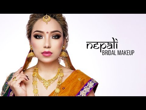 Nepali Bridal Makeup Tutorial by GURUNG DIIPA