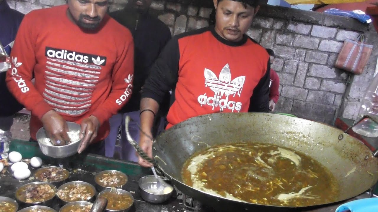 Best Tasty Spicy Food in Ranchi - Veg Soup @ 20 rs Plate - Indian Street Food