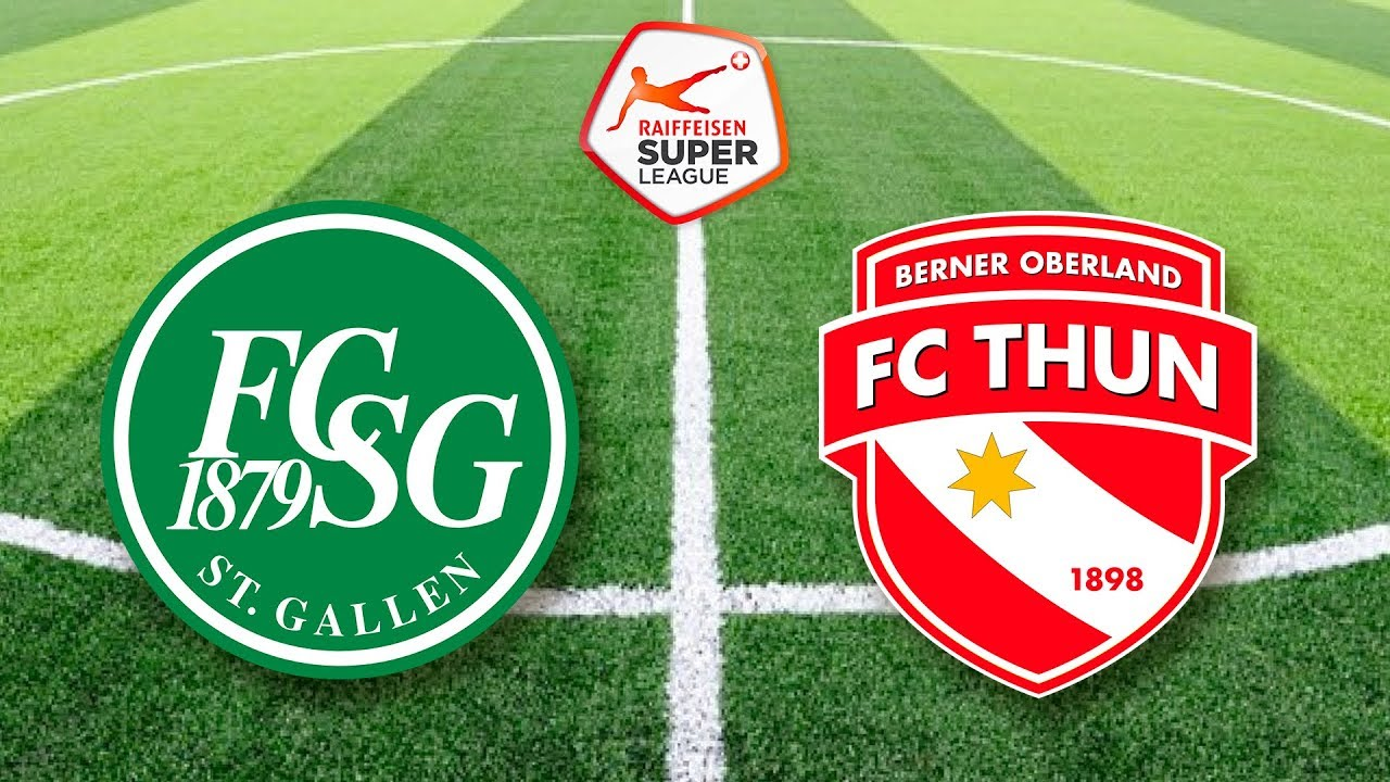 Fcsg Fc Thun Super League 9 Fifa 18 Youtube