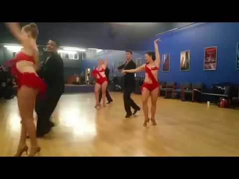 Trilliant Studios Salsa Dance Performance - Oakland California