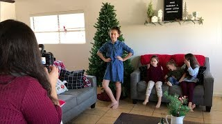 DIY Christmas Pictures || VLOGMAS DAY 3