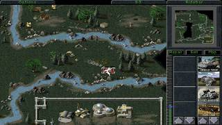 Command and Conquer GDI Mission #12ea - Playthrough #2 - Multiplayer Units Enabled