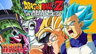 Vegeta Reacts To Dragon Ball Z Abridged_ Episode 60 - Part 3 - #DBZA60 _ Team Four Star (TFS)