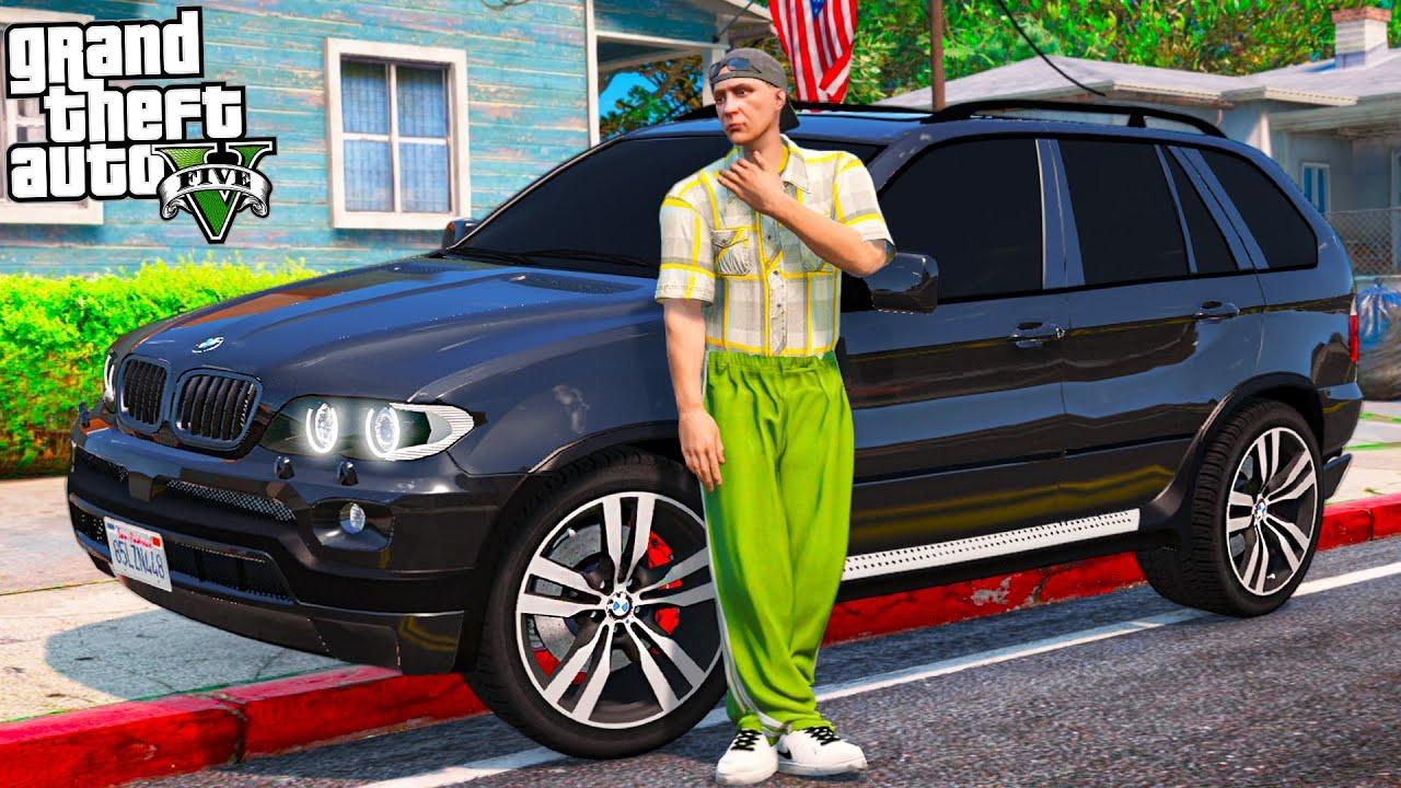МОЯ МЕЧТА СБЫЛАСЬ. КУПИЛ BMW X5 E53. БАНДИТСКИЙ БУМЕР! - РЕАЛЬНЫЕ ПАЦАНЫ В GTA 5