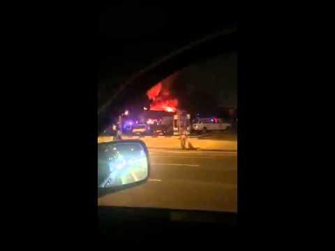 Fire at Caravan Restaurant, Doha