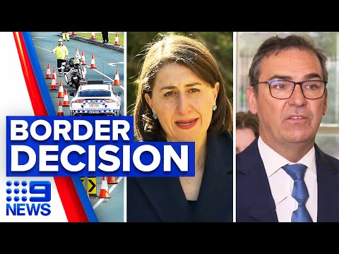 Coronavirus: South Australia To Discuss NSW Border Opening | 9 News Australia