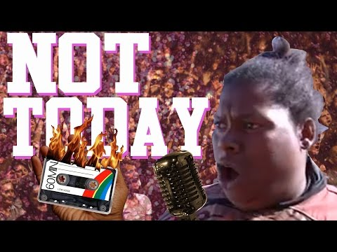 Not Today The Building Is on Fire ft Michelle Done  Songify This