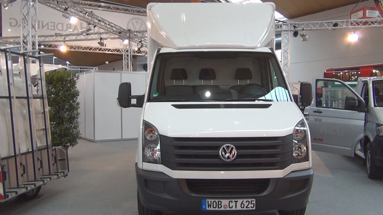 volkswagen crafter kofferwochen 2016 exterior and interior in 3d youtube. Black Bedroom Furniture Sets. Home Design Ideas