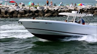 Intrepid 400 Center Console with Triple 350 Yamahas