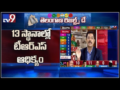 TRS leads in postal ballot || Telangana Election Results 2018 - TV9