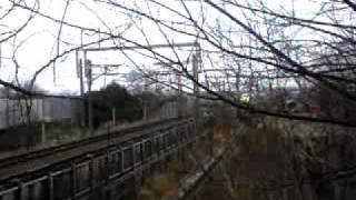 923T4のぞみ検測下り木曽川橋