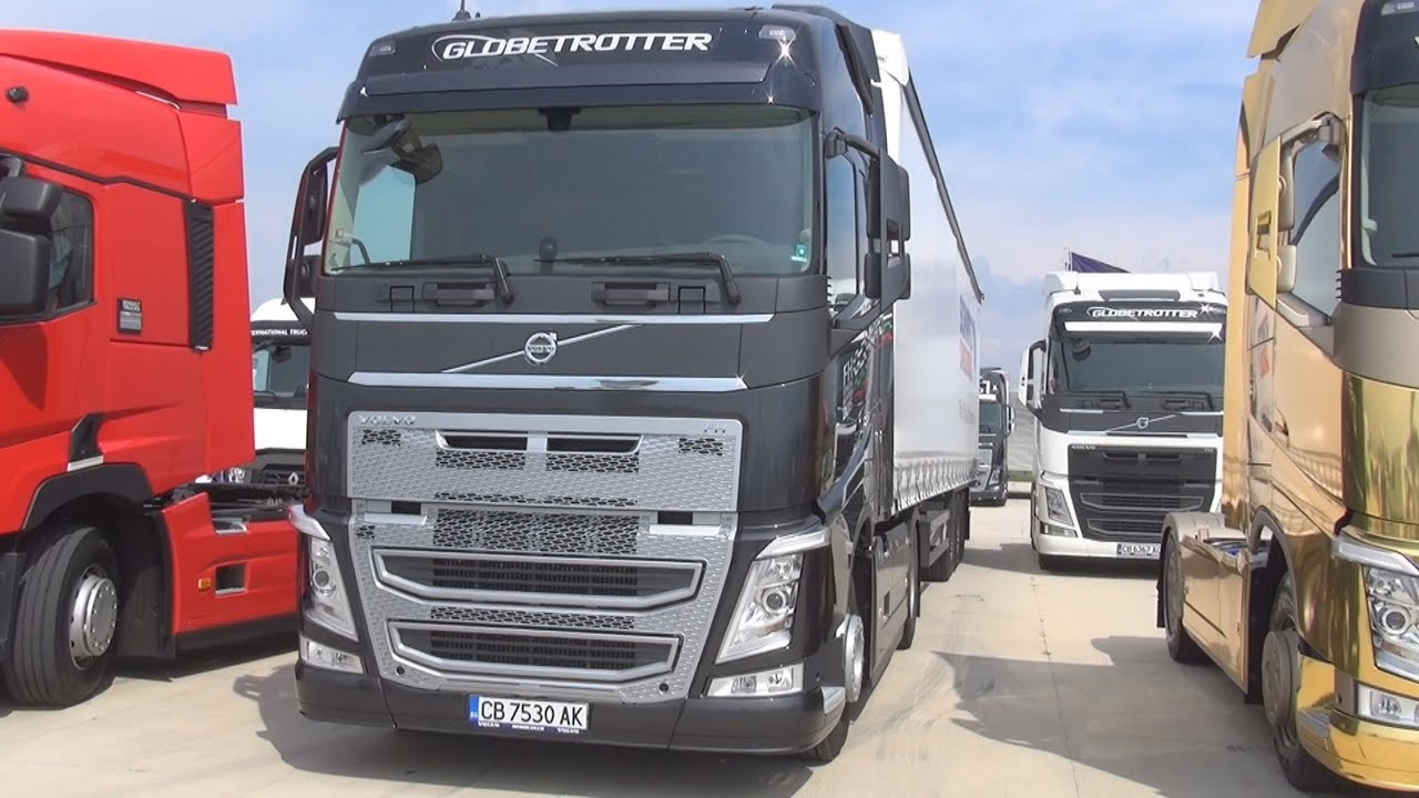 Interior Volvo 2017 >> Volvo FH 500 Special Edition 2015 Globetrotter Black Exterior and Interior in 3D - YouTube