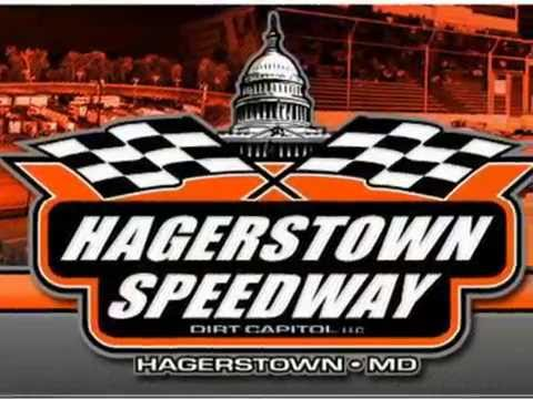 Sean Dawson wrecked at Hagerstown Speedway 072316
