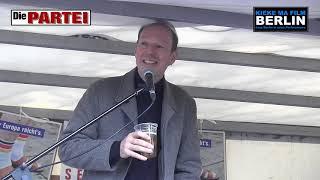 Martin Sonneborn (Die PARTEI) im Bürgerdialog - MyFest Berlin-Kreuzberg 1. Mai 2019