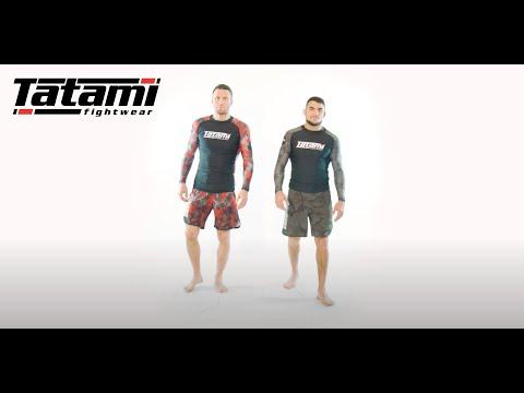 Tatami MMA Fight Shorts Renegade green-camo