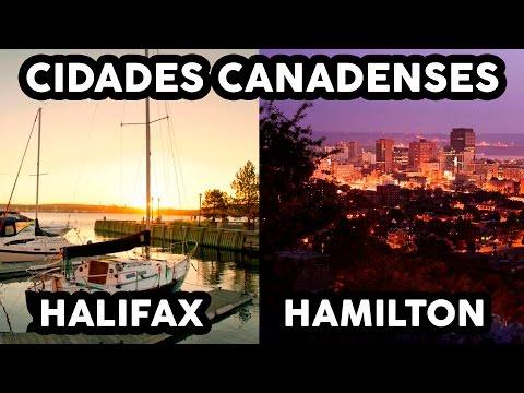 HALIFAX E HAMILTON - Cidades canadenses