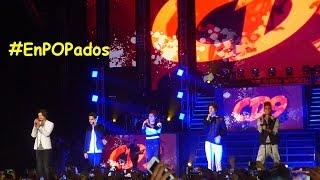 """CD9 cantan """"The Party"""" en Arena Ciudad de México #ThePartyTour 2015 / #EnPOPados"""