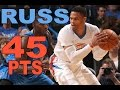 Russell Westbrook Drops 45 Points In OKC | 01.26.17
