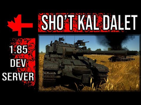 War Thunder Dev Server - Update 1.85 - Sho't Kal Dalet