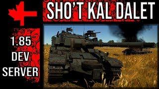 War Thunder Dev Server - Update 1.85 - Shot Kal Dalet
