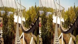 Europa-Park Ride - Silverstar (GoPro Hero1 3D)