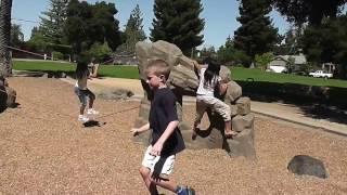Rocks & Ropes:  Roamers (logs & rocks)