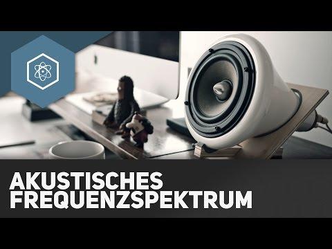 Akustisches Frequenzspektrum ● Gehe Auf SIMPLECLUB.DE/GO & Werde #EinserSchüler