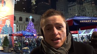 New York City Bryant Park Winter Village & Market - The Best Place in NYC For Christmas Shopping