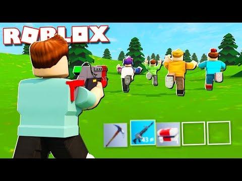 Roblox Adventures - WINNING FORTNITE SIMULATOR IN ROBLOX!? (Island Royale)