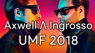 axwell λ ingrosso – live ultra music festival umf miami 2018 live tracklist