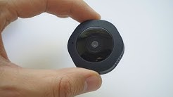 Smallest Wi-Fi camera, Internet, Night Vision, Motion detection - Chuhe