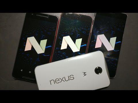 Nexus 6 Android Nougat 7.1.1 First Impression, Review, Installation, Root (Not Great, Still Love it)