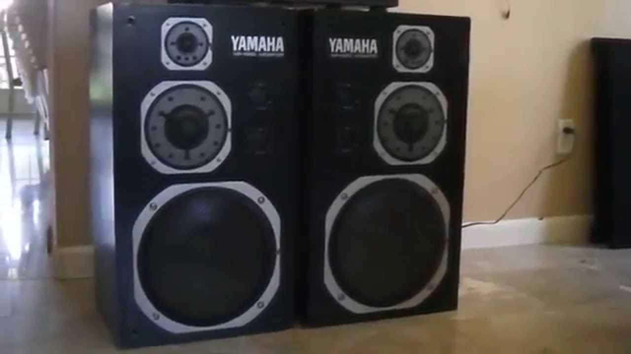 Yamaha NS-1000 Monitors Speakers - YouTube